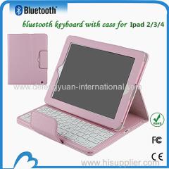 Factory Wholesale universal colorful Ipad bluetooth keyboard for iPad 2 3 4
