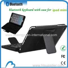 2014 promotional new design tablet keyboard case micro usb for ipad mini