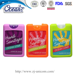 High quality 20ml credit hand sanitizer corperate gifts