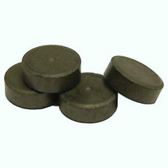 Promotional flat round anisotropic disc ferrite magnets Y35