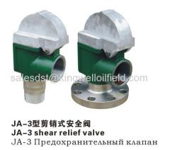 JA-3 Shearing Safty Valve for Mud Pump Factory Direct