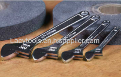 YJ-008 American type adjustable spanner with chrome plated