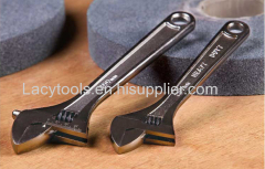 YJ-010 European type adjustable wrench with nickalloy plated
