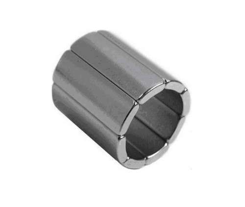 Alloy Coated Arc NdFeB Magnet N45SH