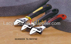 YJ-040 short handle small type mini style adjustable wrench