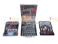 186pcs aluminum case hand tool set