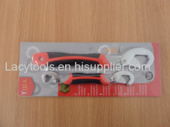 2pcs 9-32mm Snap's and grip adjustable wrench wiht blister card packing