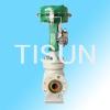 unbalanced labyrinth control valve