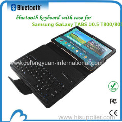 mini keyboard bluetooth case for Samsung Galaxy TABS10.5 T800