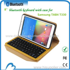 High quality bluetooth gaming keyboard with PU leather case