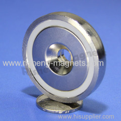D48mm M8 countersunk magnet rare earth magnete
