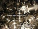 Customized Aluminium / Brass Precision CNC Machining For Machine Tool Machinery Equipment