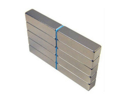 Nickel plated Professional Permanent N35 NdFeB Block magnet