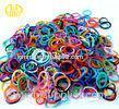 Tensile cool Rainbow Loom Rubber Bands with Logo printing
