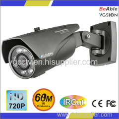 IR distance Max.60M 720p Resolution Outdoor IP67 Housing HD-CVI Camera