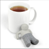 Modern Accessory Mr.Tea Infuser Loose Tea Leaf Strainer Silicone Filter Diffuser