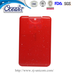 20ml credit card hand sanitizer corporate branded items