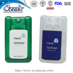 10ml New Style Card Hand Sanitizer Spray promotional product inc