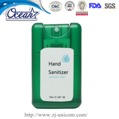 10ml New Style Card Hand Sanitizer Spray corporate gifts companies