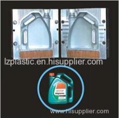 Gas oil pot or bottle mould