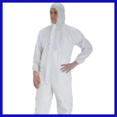Medical Special Crazy Selling safety coverall workwear with cap