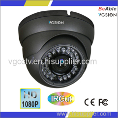 2.8-12 mm Varifocal lens HD-SDI 1080P Metal Dome Camera