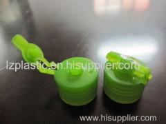 Flip top cap mould/mold
