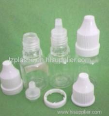 plastic eye drop bottle and cap mold
