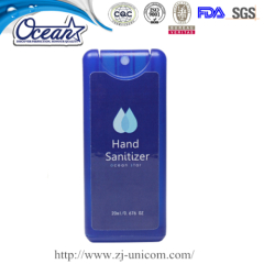 10ml Card Hand Sanitizer Spray promotional gifts manufacturers