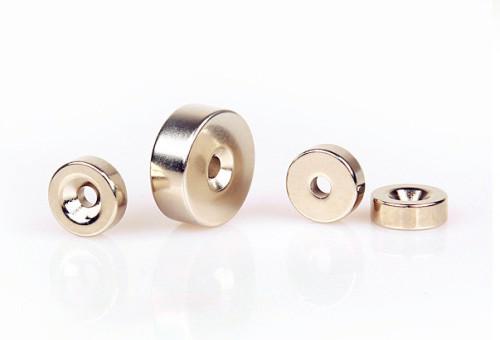 Ni Coated Ndfeb Ring Magnet N38
