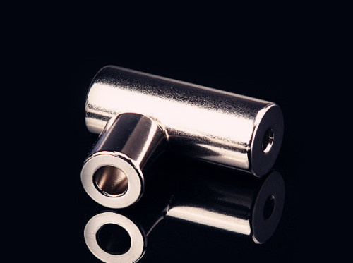N40SH Ni Coated Sintered NdFeB Ring Magnet