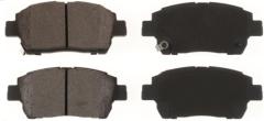 Semi-metallic Brake Pad for TOYATO Corolla