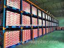 Powder Coated Drive In Pallet Rack , Durable Steel Pallet Racking