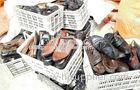 Export Used Mens Used Shoes for Africa Big Size OEM Men Leather Shoes