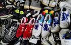 Durable Man or Women Used Sport Shoes / Second Hand Shoes Red White Grey Colorful