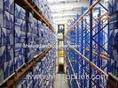 Adjustable heavy duty pallet storage racking system for industrial storage