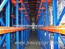 High Volume Drive In Pallet Rack , 4000mm Cold Rolled Structure Steel Rack