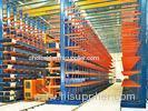 Adjustable Cantilever Lumber Racks , Metal Racking System For Long / Bulky Materials