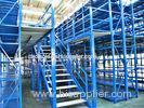 Long Span Pallet Rack Mezzanine Catwalk Systems With Adjustable Steel Decking