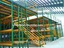 Heavy Duty Racking Beneath Shelf Supported Mezzanine Multi Tier Shelving