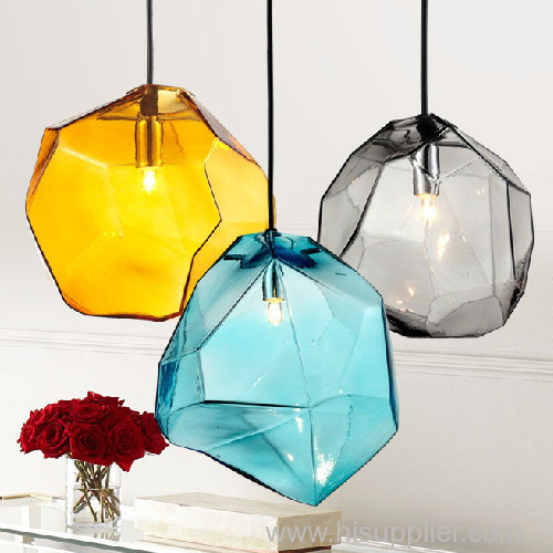 Nordic modern minimalist LED glass lighting fixtures for sale