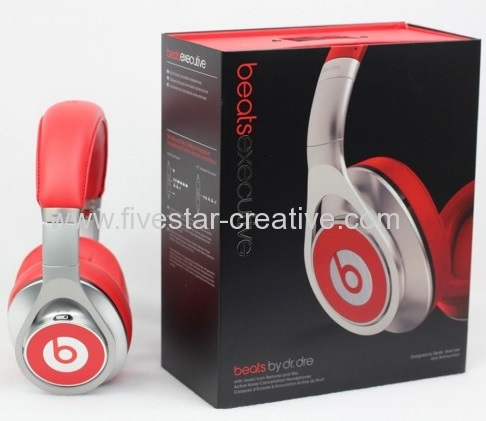 Beats Executive Over-the-Ear Noise Cancelling Headphones Red China Supplier