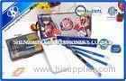 Nylon Cartoon Kids Personalized Stationery Sets with Pencil Bag / Wooden Pencils and Ruler