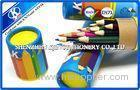 Personalized 7 Inch Colored Pencils Set High Grade Basswood
