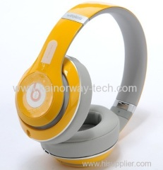 Beats by Dr.Dre Beats Studio Wireless Orange Over-the-Ear Headphones with Rechargeable