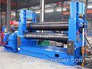 3 Roller Hydraulic Plate Roller Machine / Universal Plate Coiling Machine