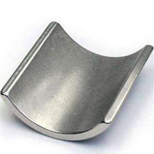 various sizes ndfeb magnets with arc shape