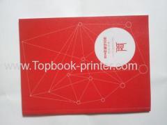 Alta classe spot rivestito copertura scuola libro rilegato in brossura o in brossura stampa UV