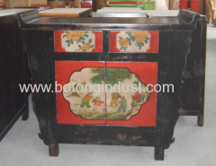 Antique painting Shanxi cabinet