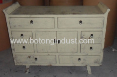 Antique home furniture cabinet
